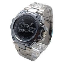 Relógio Automático Aço Inoxidável Digital e Analógico - Intimes