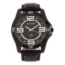 Relógio Backer Couro - 3227112M -