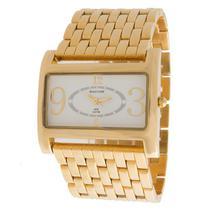 Relógio backer feminino bremen dourado 3619145l br -