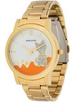 Relógio backer feminino dourado 3327145f br -