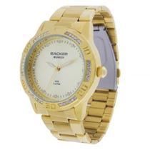 Relógio Backer Feminino dourado/ 3373145F -