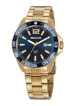 Relógio Banhado a ouro 2 anos de garantia Seculus -