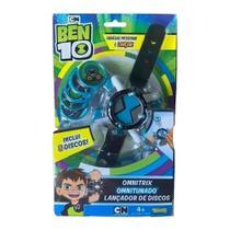 Relógio Ben 10 Lançador De Disco Omnitrix Omnitunado - Sunny -