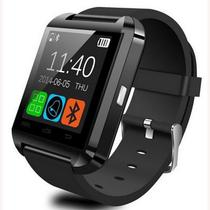 c1ce949d80f Relogio Bluetooth Smartwatch u8 Compativel Iphone Android Sem fio Preto