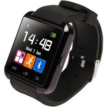 Relogio Bluetooth u8+ Plus Smartwatch Touch Screen Sem fio Inteligente Ligação Viva Voz Preto