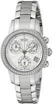 Relogio Bulova ACCU Swiss 63R141 com 90 Diamantes -