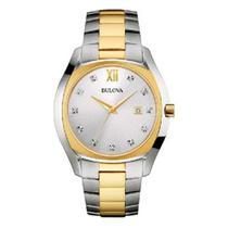 Relógio Bulova Diamond Feminino Wb26064s -