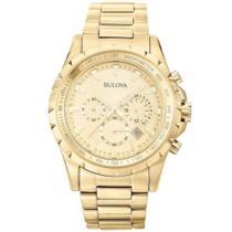 Relógio Bulova Marina Star WB30864X Dourado Masc Original -