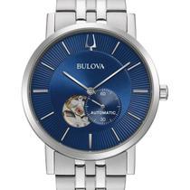 Relógio bulova masculino automático classic american clipper 96a247 -