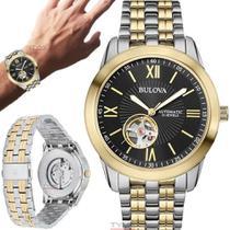 Relógio Bulova Masculino Automático WB32004P -
