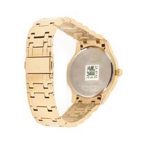 Relógio bulova masculino dourado fundo preto wb22444u -