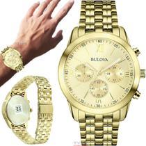 Relógio Bulova Masculino Dourado WB22346G -