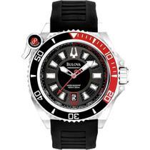 Relógio BULOVA Masculino Precisionist 300 metros WB31569T Scuba Diver -
