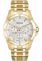 Relógio Bulova WB21927H  Dourado Masculino Original -