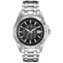 Relógio Bulova WB22211T Prata Masculino Original -