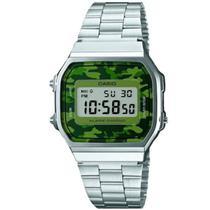 e30fd593fef Relógio Casio Digital Unissex A168WEC-3DF