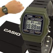 Relógio Casio Digital Vintage Verde Prova D'água  com 1 ano de garantia -