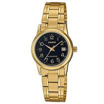Relógio Casio Feminino Analógico Dourado LTP-V002G-1BUDF -