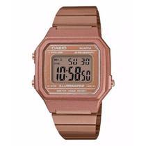 Relógio Casio Feminino Digital Vintage Rose B650wc-5adf -