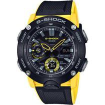 Relógio Casio G-Shock Masculino Anadigi Amarelo GA-2000-1A9DR -