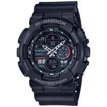 Relógio Casio G-shock Masculino Anadigi Preto Ga-140-1a1dr -