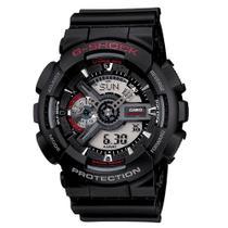 Relógio Casio G-Shock Masculino Preto Anadigi GA-110-1ADR -