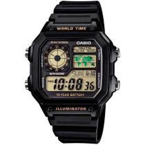 Relógio Casio Masculino AE-1200WH-1BVDF -