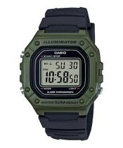 Relógio Casio Masculino Digital W-218H-3AVDF -