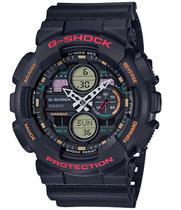 Relógio Casio Masculino G-Shock Anadigi GA-140-1A4DR -
