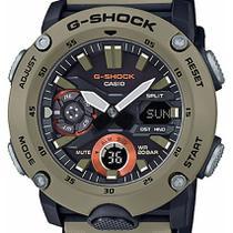 Relógio Casio Masculino G-shock Carbon Core Guard Ga-2000-5adr Caqui -