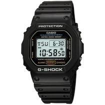 Relógio Casio Masculino G-Shock Preto Digital DW-5600E-1VDF -