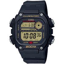 Relógio Casio Masculino Preto Prova DÁgua 200 Metros  DW-291H-9AVDF -