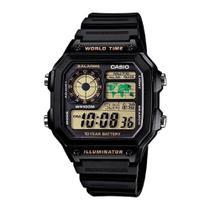 Relógio Casio Masculino Standard AE-1200WH-1BVDF -