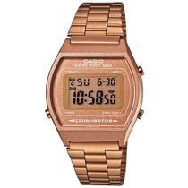 Relógio Casio Retrô Digital Vintage B640WC-5ADF Alarme Cronômetro -