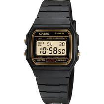 Relógio Casio Unissex Digital Vintage F-91WG-9QDF -