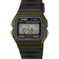 Relógio Casio Unissex Digital Vintage F-91WM-3ADF -
