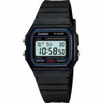 Relógio Casio Vintage  - F-91W-1dg - Chronograph - Digital -