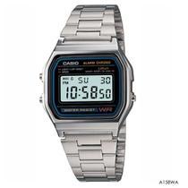 Relógio Casio Vintage Prata A158WA-1DF -
