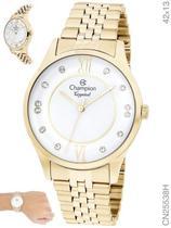 Relógio Champion Crystal CN25538H Quartz Dourado -