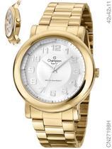 Relógio Champion Crystal CN27198H Quartz Dourado -