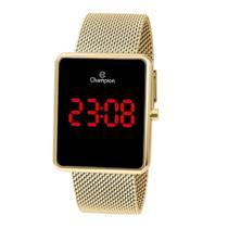 Relógio Champion Digital Ch40080v Dourado Unissex -