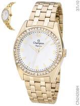 Relógio Champion Elegance CN24208H Quartz Pulseira Aço Dourado -