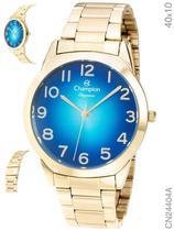 Relógio Champion Elegance CN24404A Quartz Pulseira Aço Dourado -