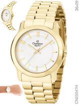 Relógio Champion Elegance CN25047H Quartz Dourado -