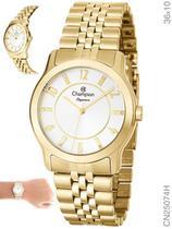 Relógio Champion Elegance CN25074H Quartz Dourado -