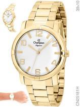 Relógio Champion Elegance CN25181H Quartz Dourado -