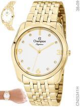 Relógio Champion Elegance CN25341H Quartz Dourado -