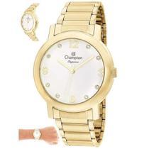 Relógio Champion Elegance CN25654H Quartz Dourado -
