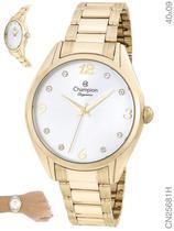 Relógio Champion Elegance CN25681H Quartz Dourado -