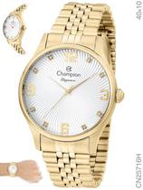 Relógio Champion Elegance CN25716H Quartz Dourado -
